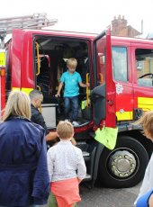 The Fire Engine is always popular with the children