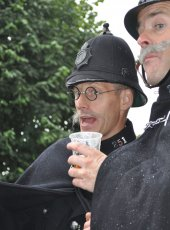 Even our very tall policeman like a PIMMS